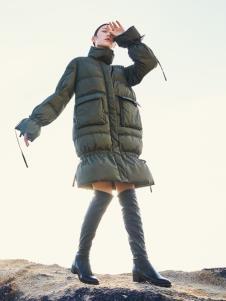 谷度秋冬新款女裝羽絨服