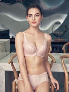 爱戴秋冬新品内衣粉色