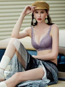 艾慕内衣秋冬新款紫色