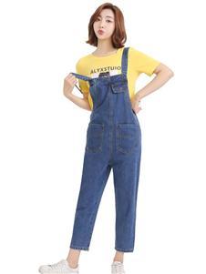 优主义背带裤