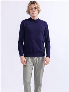 Saslax秋季新款纯色卫衣