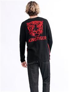 Saslax秋季新款狮子头卫衣