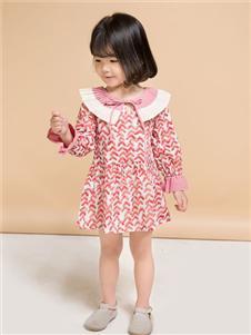 维尼叮当粉色女裙