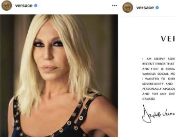 Versace道歉 澳门银河娱乐场注册到底怎么做才不会成为第二个D&G?