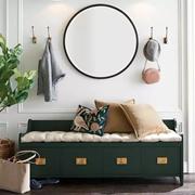 2020 亚麻流行趋势 | 颜值担当、实力舒适:亚麻垫+鞋柜的玄关,才是有格调的家。