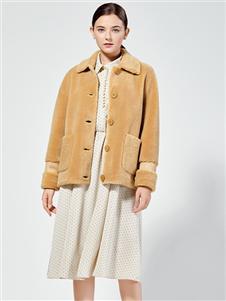 布伦圣丝秋冬新款短大衣