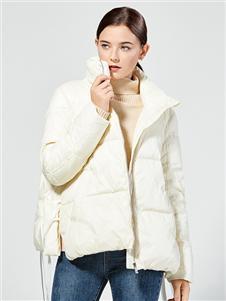 布伦圣丝时尚气质羽绒服