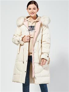 布伦圣丝新款时尚羽绒服