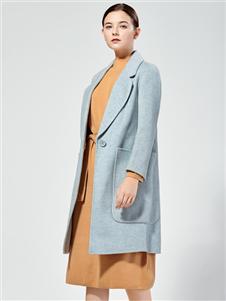 布伦圣丝新款呢大衣