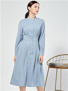 布伦圣丝新款修身连衣裙