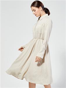 布倫圣絲秋冬新款連衣裙