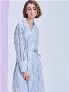 MEIILTHI衬衫裙