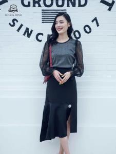 2019季候風女裝秋冬新款套裝