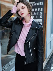 LIYA LISA莉雅莉萨新款时尚皮衣