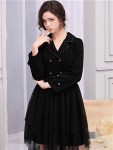 LIYA LISA莉雅莉萨新款气质知性连衣裙