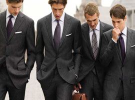 量品从衬衫扩展到西装大衣 3万的杰尼亚西装,他们卖9千