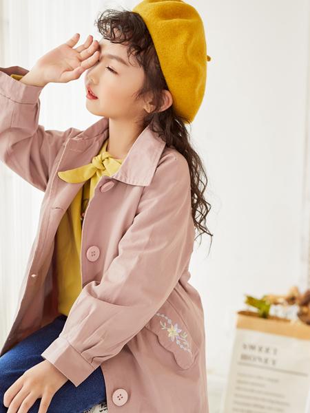 西瓜王子秋季新款时尚风衣