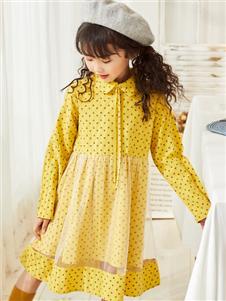 西瓜王子秋季新款连衣裙