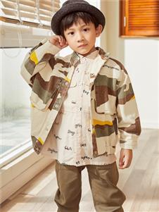 西瓜王子秋冬新款男童外套
