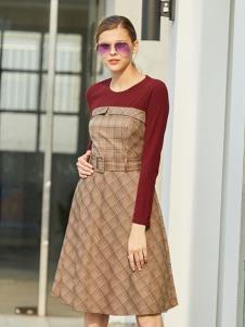 衣艾秋冬新款裙子