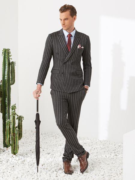 西装穿什么款式好看 富绅男装穿搭怎么样
