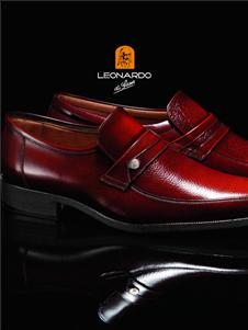 利奥纳多男装利奥纳多新款皮鞋