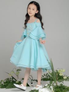 贝的屋秋冬新款童装公主裙