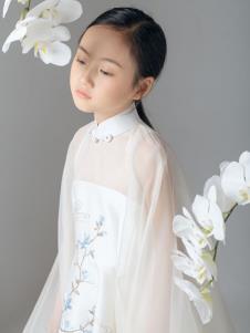 贝的屋秋冬新款童装纱裙