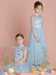 貝的屋秋冬新款童裝紗裙
