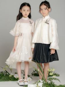 贝的屋秋冬新款童装裙子