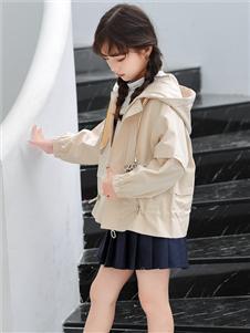 1+2=3童装秋冬新款连帽外套