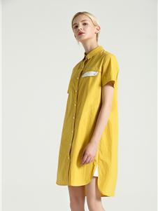 摩米图衬衫裙