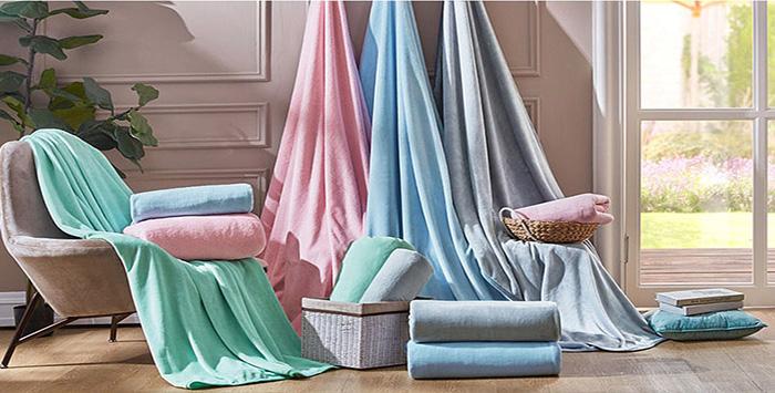 馨格家紡與羅萊家紡合作開發量產抑菌防螨法蘭絨毛毯