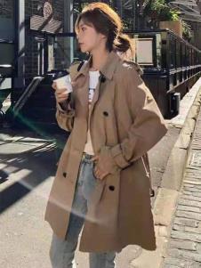 宝洛莎秋冬新款女装风衣