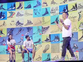 安踏上海举办KT5发布会 重点是像素化设计语言