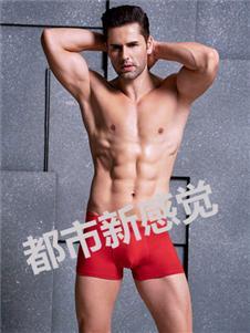 都市新感觉男士红色内裤