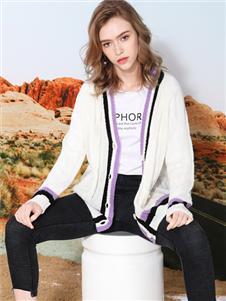 莎斯莱思女装新款针织外套