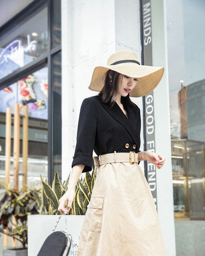 布卡慕尚19年时尚新款品牌女装尾货库存批发^p