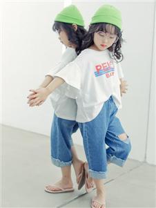 PEIQI FAMILY夏裝T恤