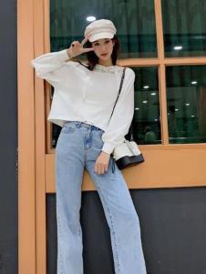 碧成萱女装2019秋冬新款卫衣