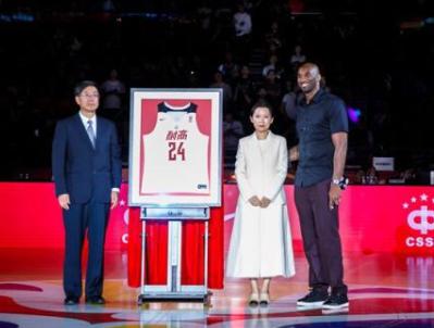 科比透露1重大喜讯:耐克将全面助力中国高中联赛