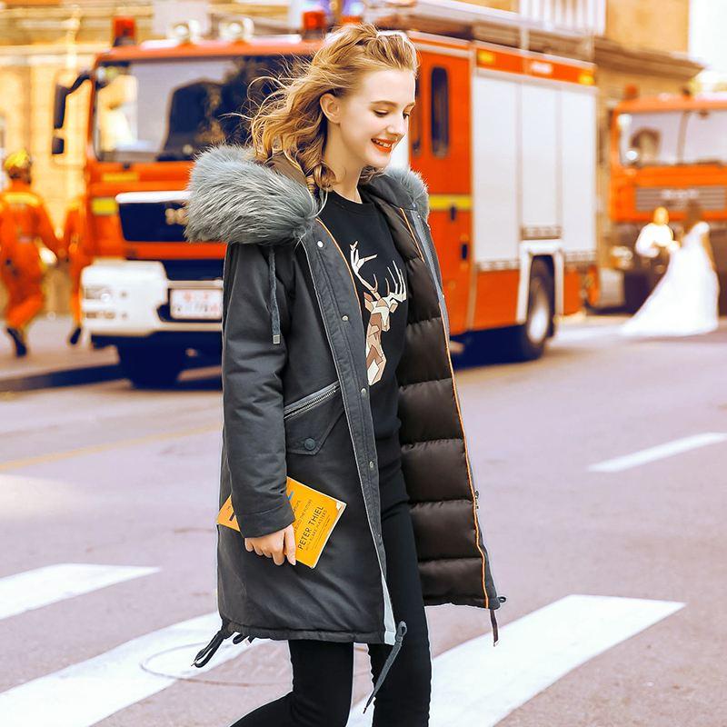 粉红玛琍欧式风尚女装羽绒服折扣批发尾货