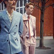 新申·亚麻流行趋势 | 首席男模RichardBiedul,示范亚麻穿搭。