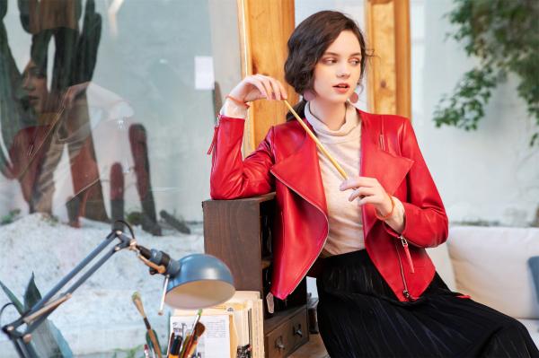 精致女孩的秋季穿搭 莉雅莉萨打造梦想家服饰