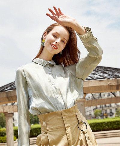 纳纹专柜女装库存厂家一手货源走份品牌折扣女装