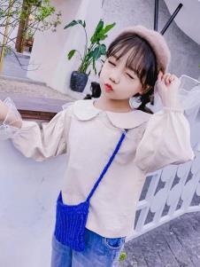 创印象童装秋季娃娃领上衣