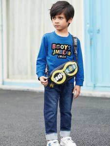 杰米熊秋冬新款童装卫衣