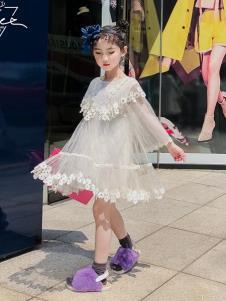 玖喆潮童纱裙