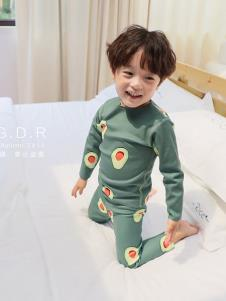 创印象童装秋季睡衣