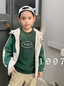 创印象童装创印象童装秋季绿色外套